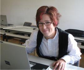 Frauenpower: Danica Wilhelmi bei der Eingabe des Dachstuhls 2008.