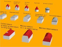 3D-Datei (17 MB) der Dachformen herunterladen