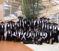 Gruppenfoto eines Abgangsjahrgangs