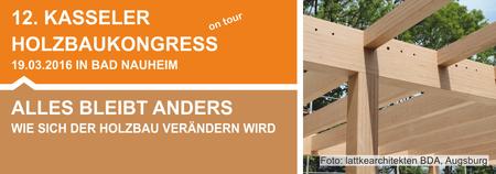 12. Kasseler Holzbaukongress